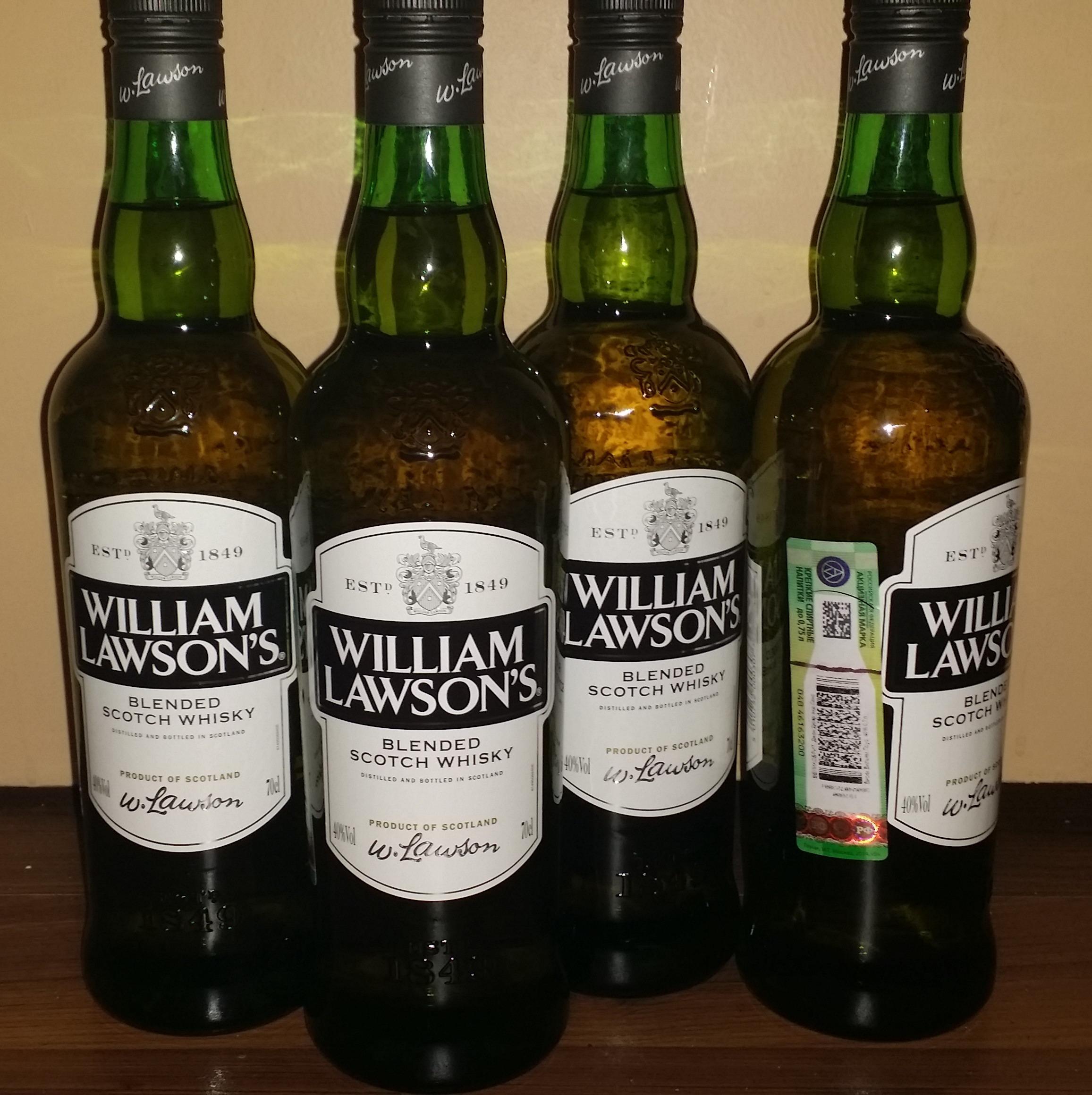 Post Thumbnail of Виски WILLIAM LAWSON'S 0.7л за 500р! Иногда в Ашане