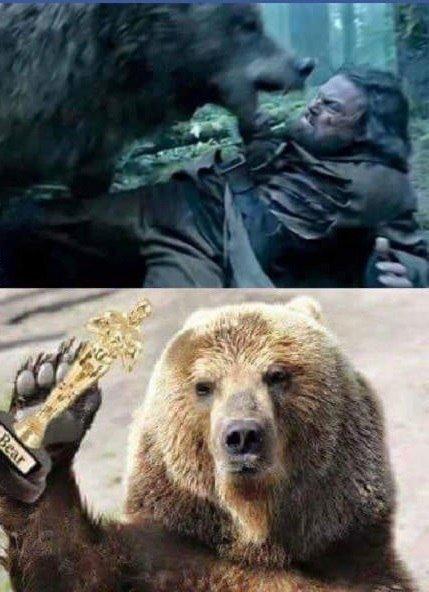 Леонардо ди каприо фильм с медведем фильмы живое актеры