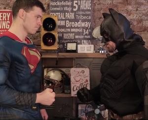 бэтмен против супермена пародия