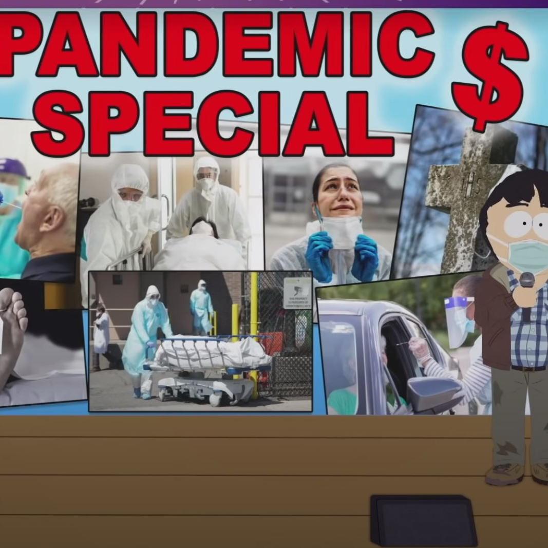 Post Thumbnail of Южный Парк - пандемический спешл